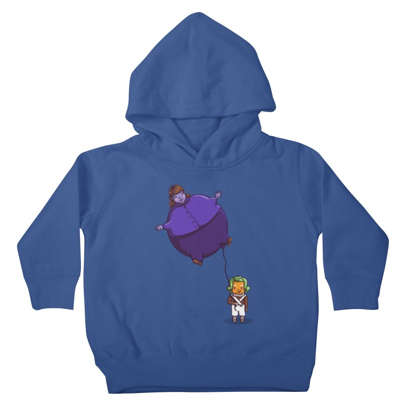 Too Much Bubblegum Kids Toddler Pullover Hoody by kellabell9