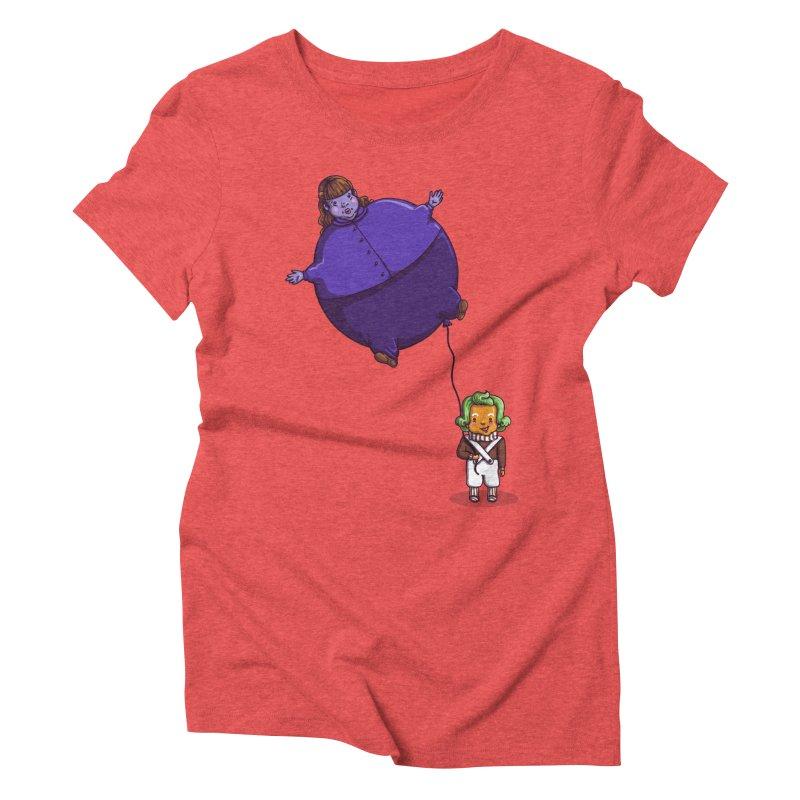 Too Much Bubblegum Women's Triblend T-Shirt by kellabell9