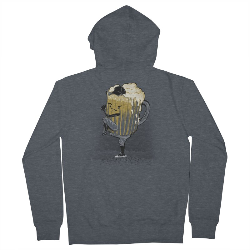 The Pitcher Men's Zip-Up Hoody by kellabell9
