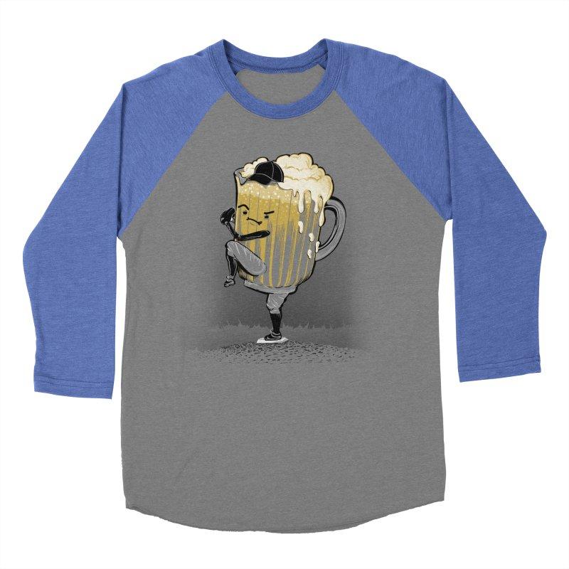 The Pitcher Women's Baseball Triblend T-Shirt by kellabell9