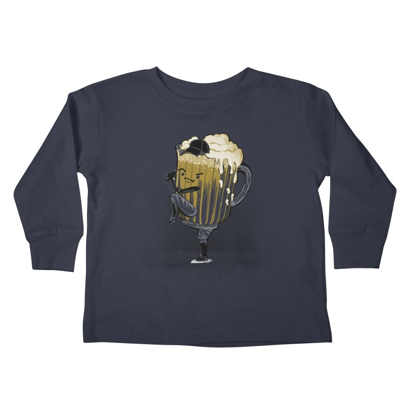 The Pitcher Kids Toddler Longsleeve T-Shirt by kellabell9