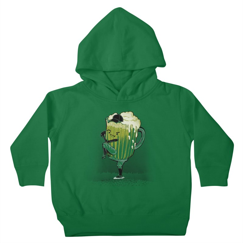 The Pitcher Kids Toddler Pullover Hoody by kellabell9