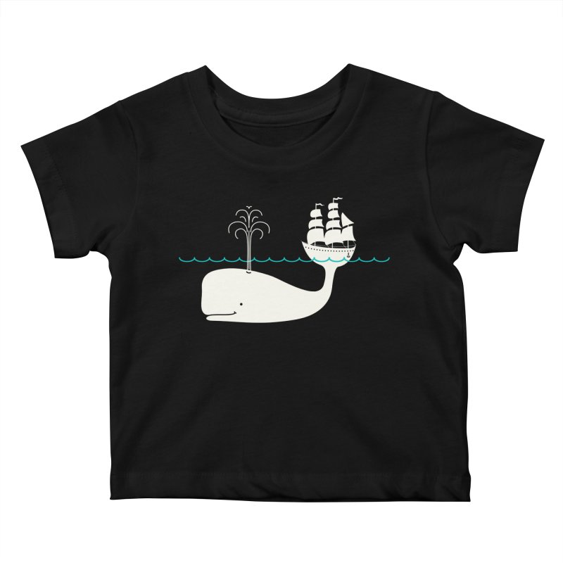 Moby Kids Baby T-Shirt by kellabell9