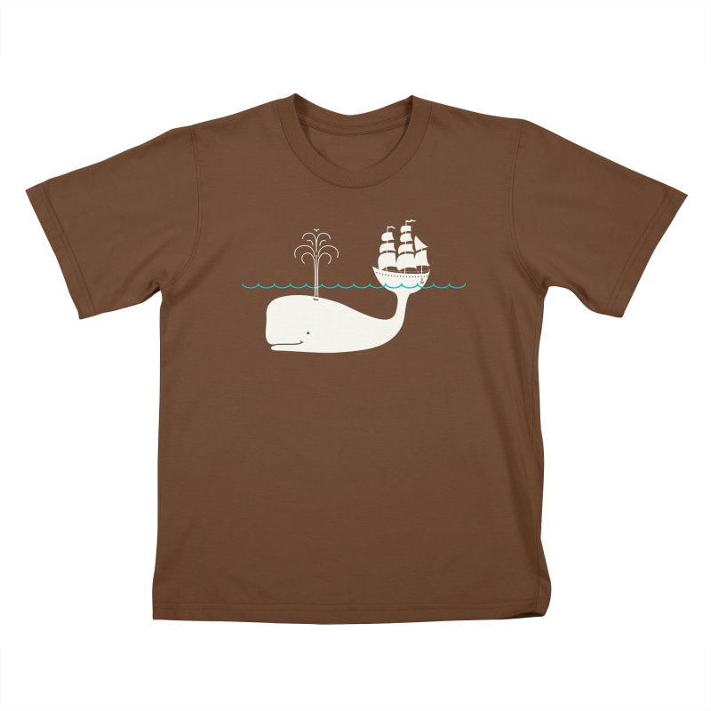 Moby Kids T-Shirt by kellabell9