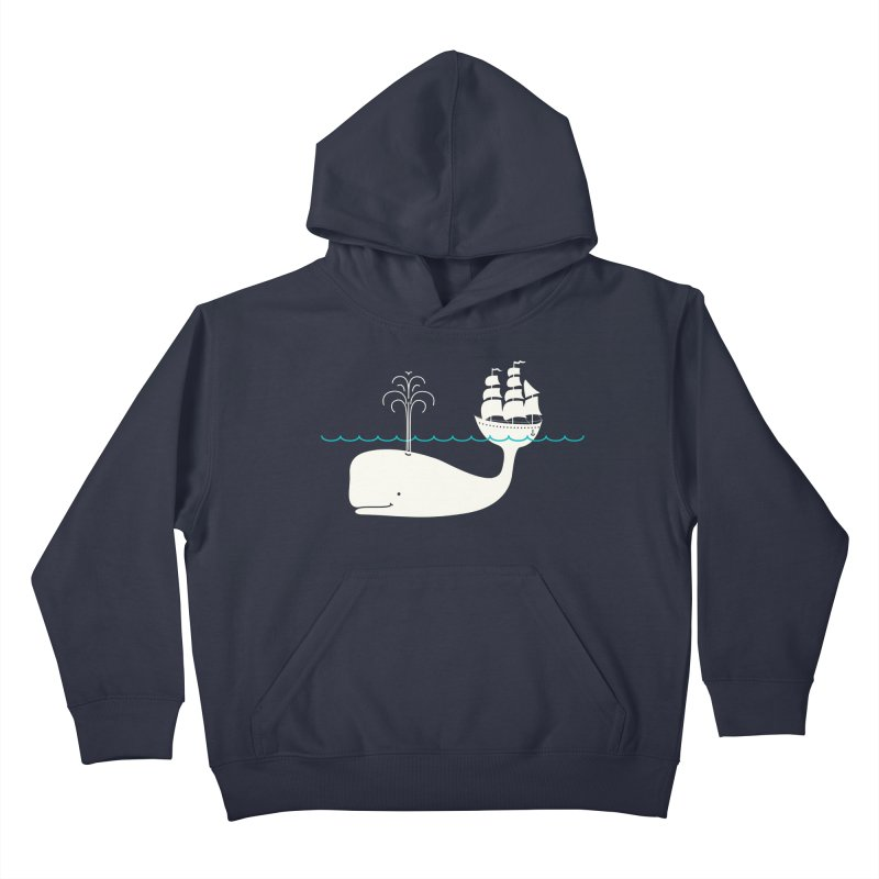 Moby Kids Pullover Hoody by kellabell9