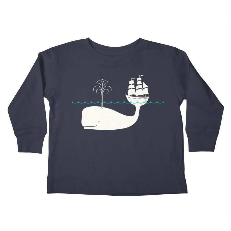 Moby Kids Toddler Longsleeve T-Shirt by kellabell9