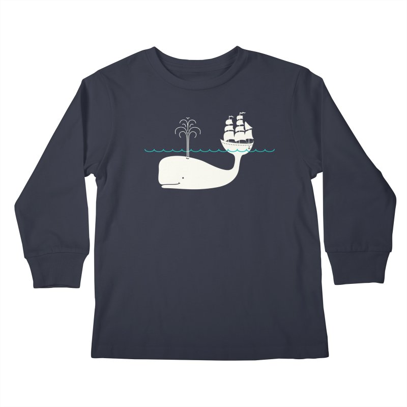 Moby Kids Longsleeve T-Shirt by kellabell9