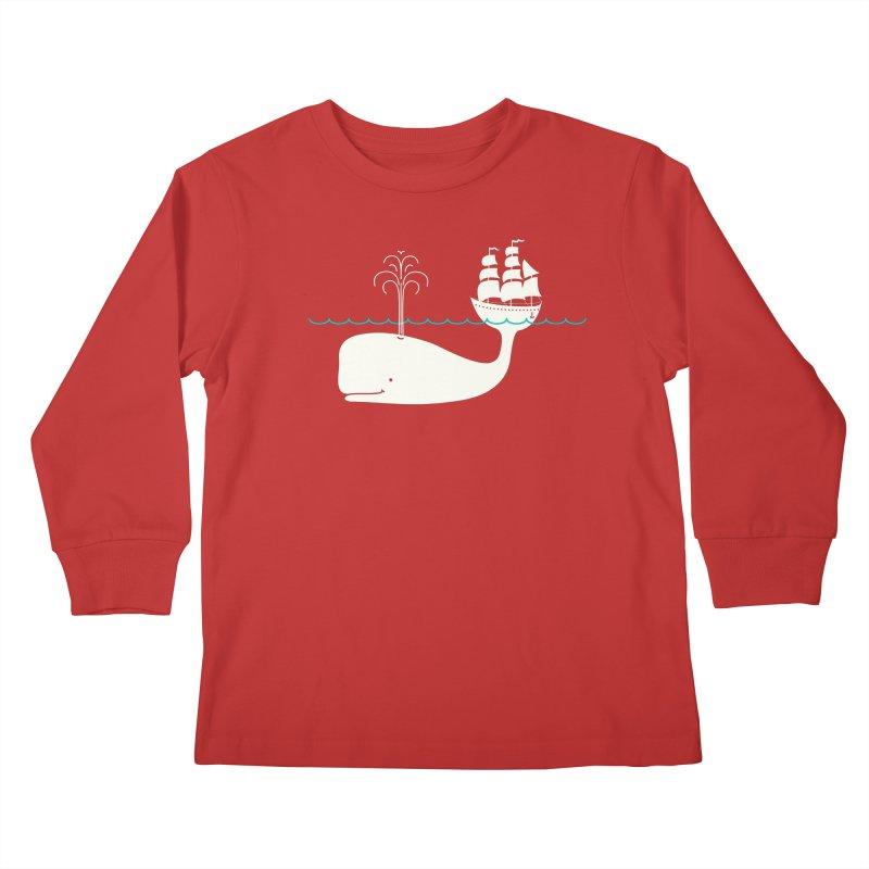 Moby Kids Longsleeve T-Shirt by kellabell9