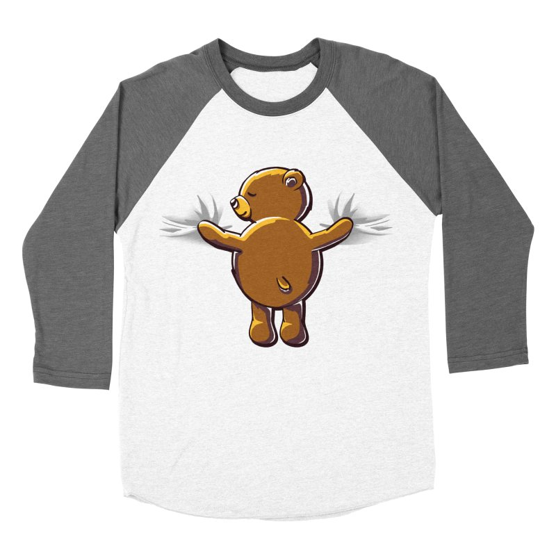 Bear Hug Women's Longsleeve T-Shirt by kellabell9