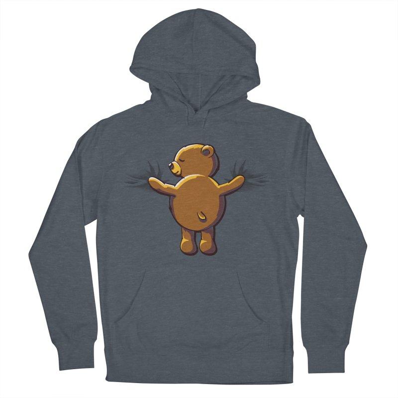 Bear Hug Men's Pullover Hoody by kellabell9