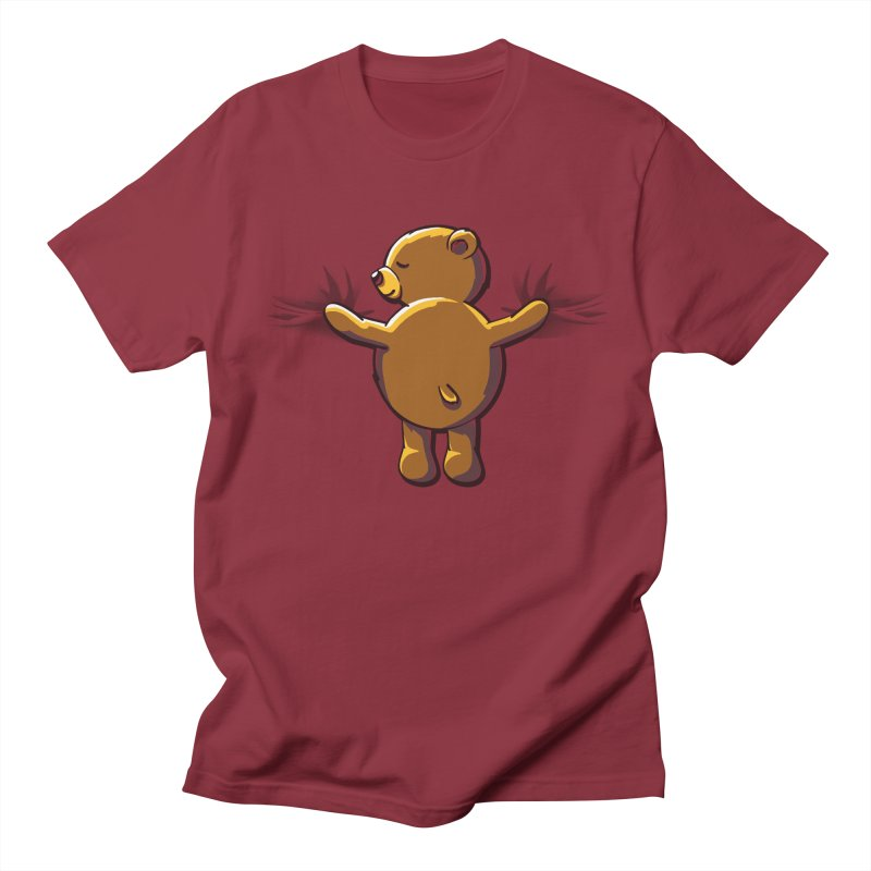 Bear Hug Men's T-Shirt by kellabell9