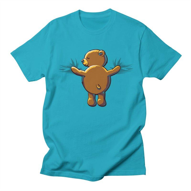 Bear Hug Men's Regular T-Shirt by kellabell9