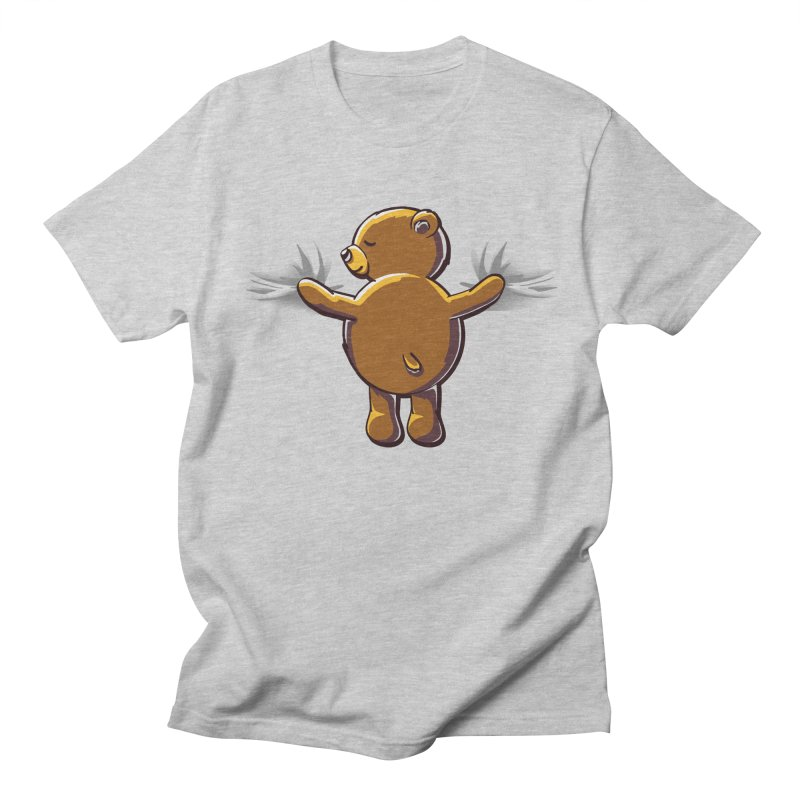 Bear Hug Men's T-Shirt by kellabell9