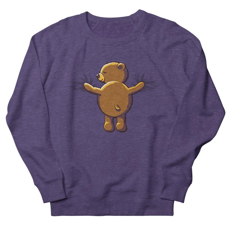 Bear Hug Men's French Terry Sweatshirt by kellabell9