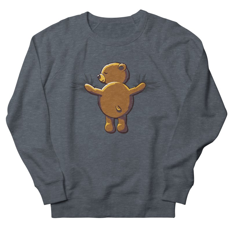 Bear Hug Men's Sweatshirt by kellabell9