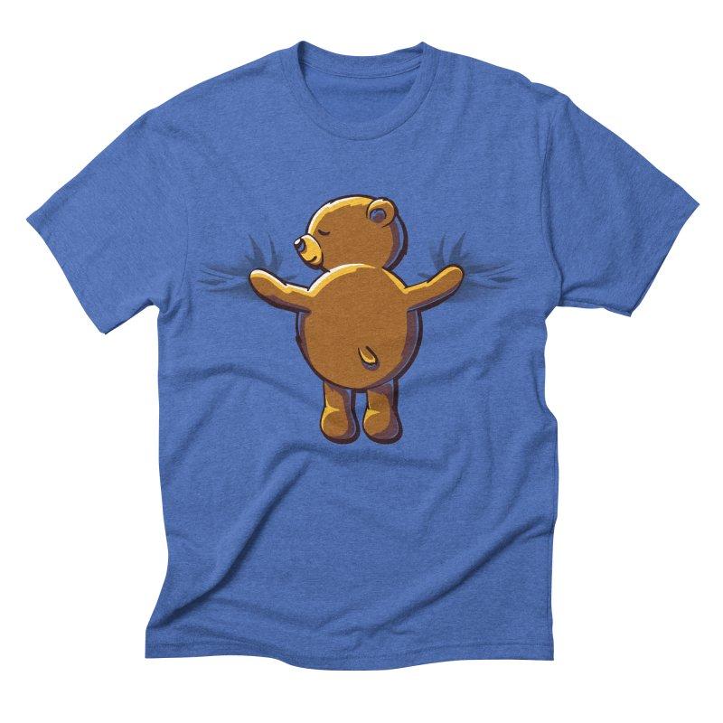 Bear Hug Men's Triblend T-shirt by kellabell9