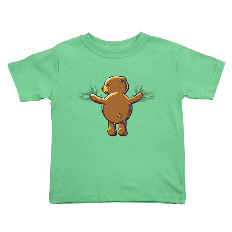 Bear Hug Kids Toddler T-Shirt by kellabell9