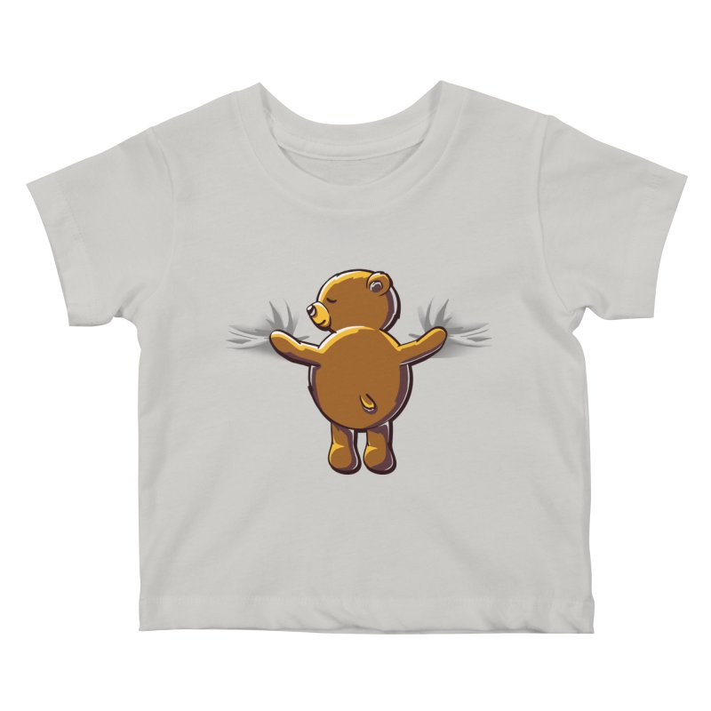 Bear Hug Kids Baby T-Shirt by kellabell9