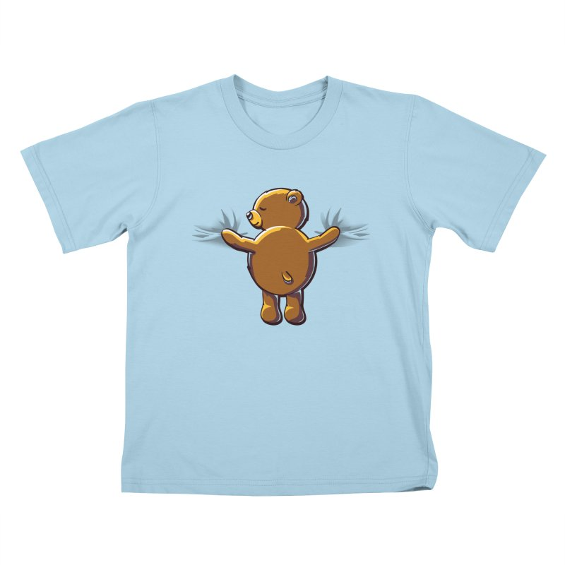Bear Hug Kids T-shirt by kellabell9