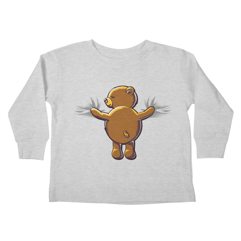Bear Hug Kids Toddler Longsleeve T-Shirt by kellabell9
