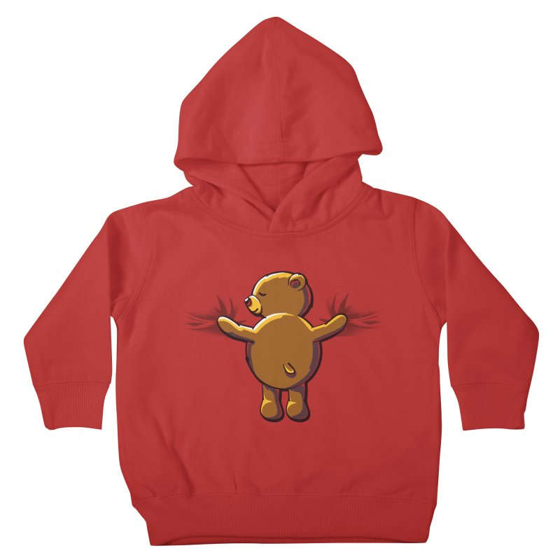 Bear Hug Kids Toddler Pullover Hoody by kellabell9