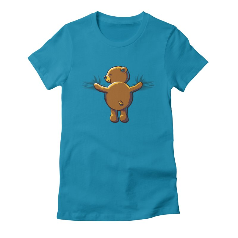 Bear Hug Women's T-Shirt by kellabell9