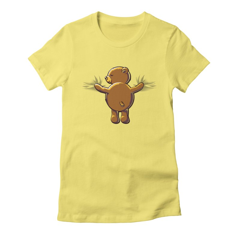 Bear Hug Women's T-Shirt by kellabell9