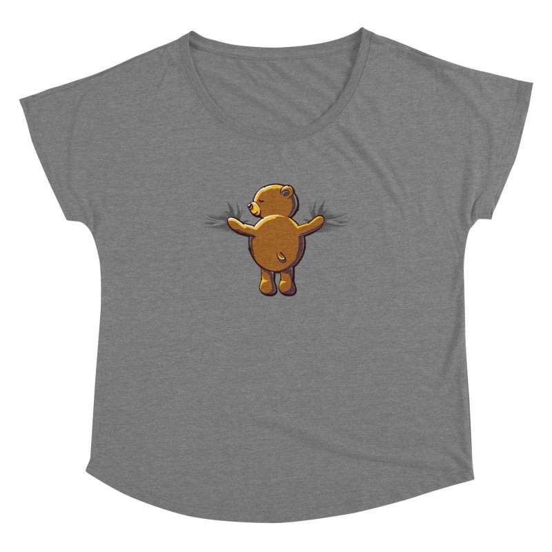 Bear Hug Women's Scoop Neck by kellabell9