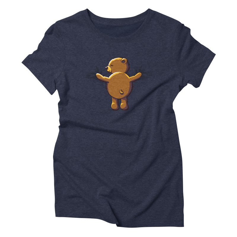 Bear Hug Women's Triblend T-Shirt by kellabell9