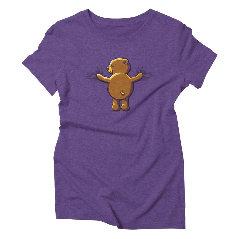 Bear Hug Women's Triblend T-Shirt by kellabell9