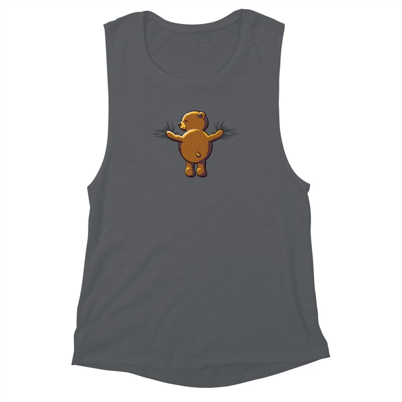 Bear Hug Women's Muscle Tank by kellabell9