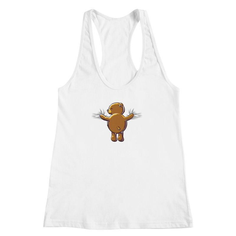 Bear Hug Women's Racerback Tank by kellabell9