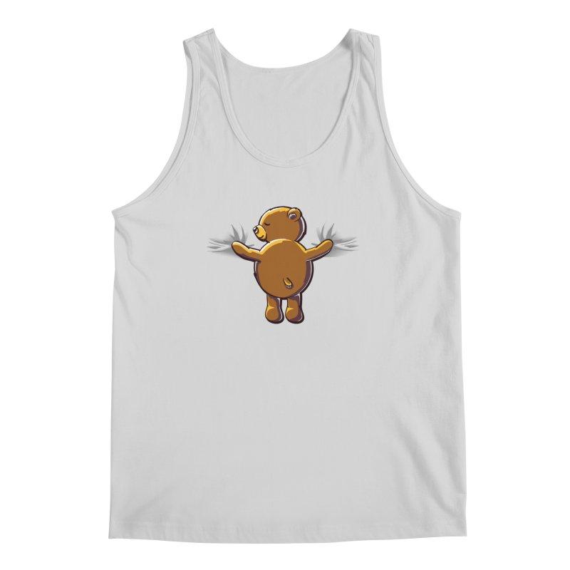 Bear Hug Men's Tank by kellabell9