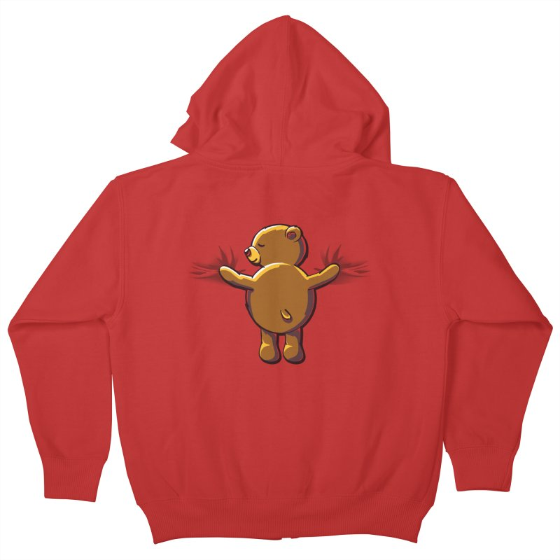 Bear Hug Kids Zip-Up Hoody by kellabell9