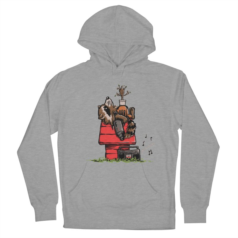 Peanut Guardians Men's French Terry Pullover Hoody by kellabell9