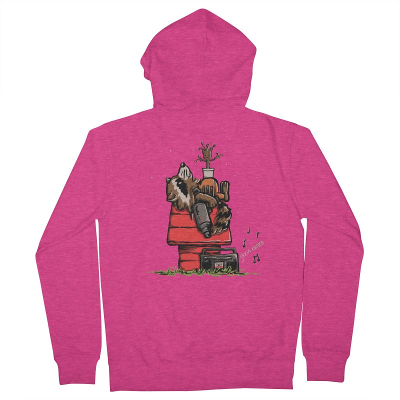 Peanut Guardians Women's French Terry Zip-Up Hoody by kellabell9