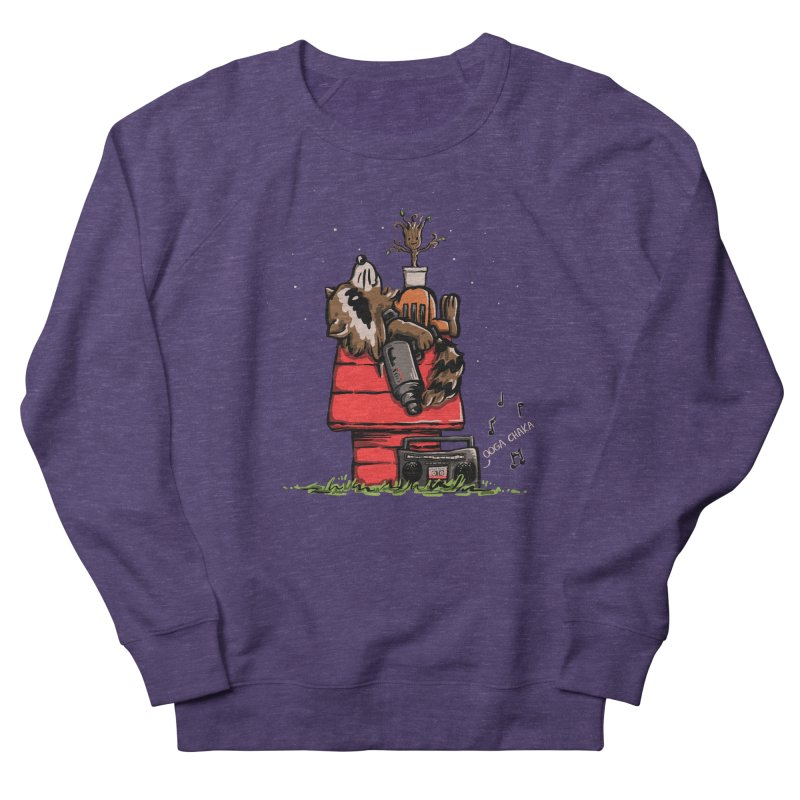 Peanut Guardians Men's French Terry Sweatshirt by kellabell9