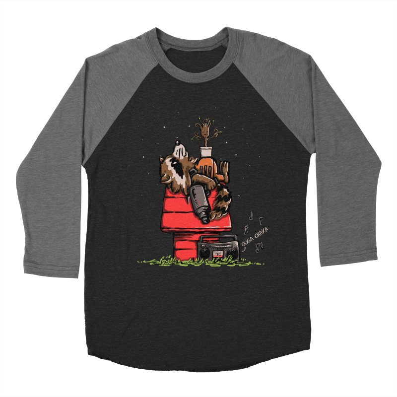 Peanut Guardians Men's Baseball Triblend T-Shirt by kellabell9