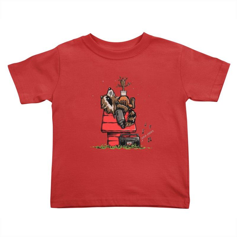 Peanut Guardians Kids Toddler T-Shirt by kellabell9