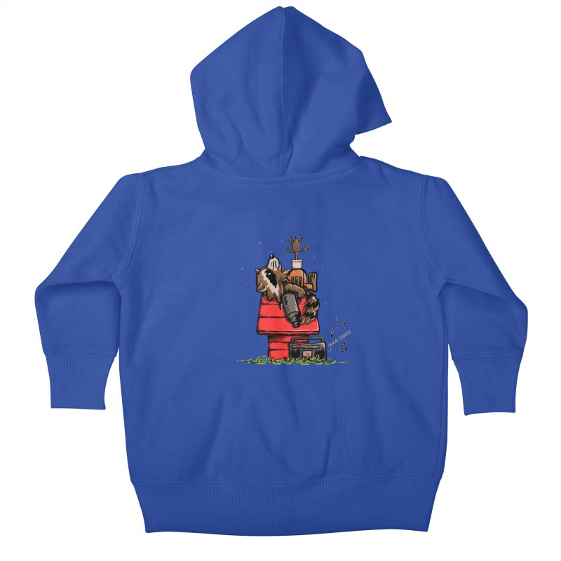 Peanut Guardians Kids Baby Zip-Up Hoody by kellabell9