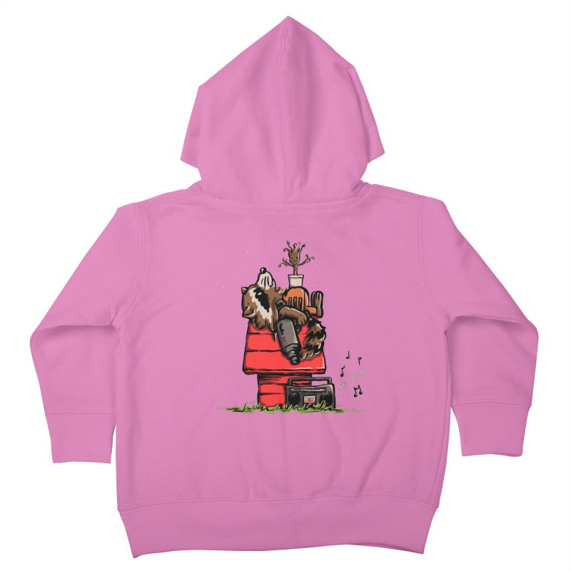 Peanut Guardians Kids Toddler Zip-Up Hoody by kellabell9