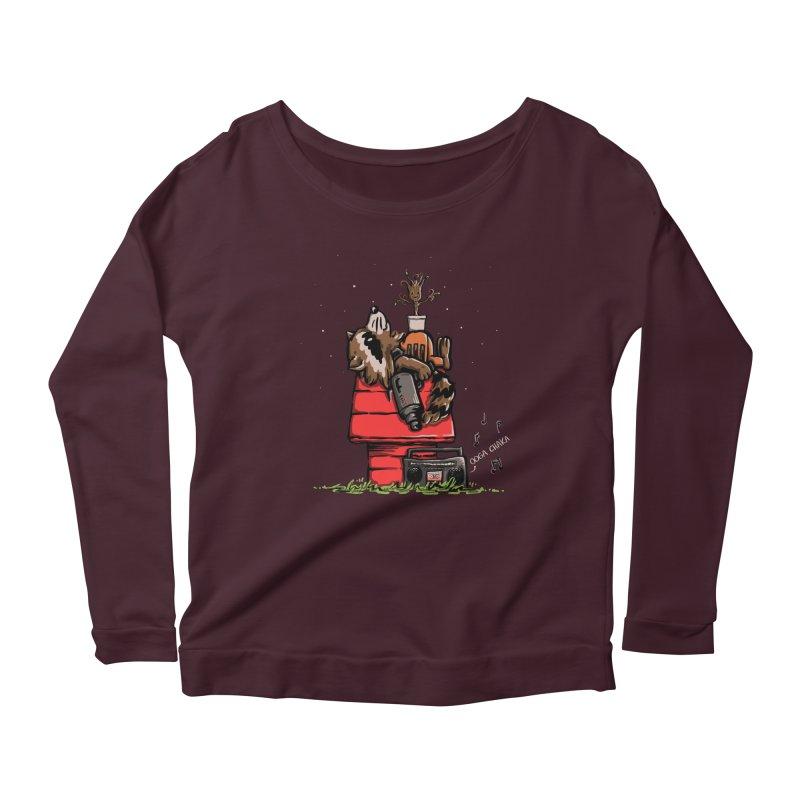 Peanut Guardians Women's Scoop Neck Longsleeve T-Shirt by kellabell9