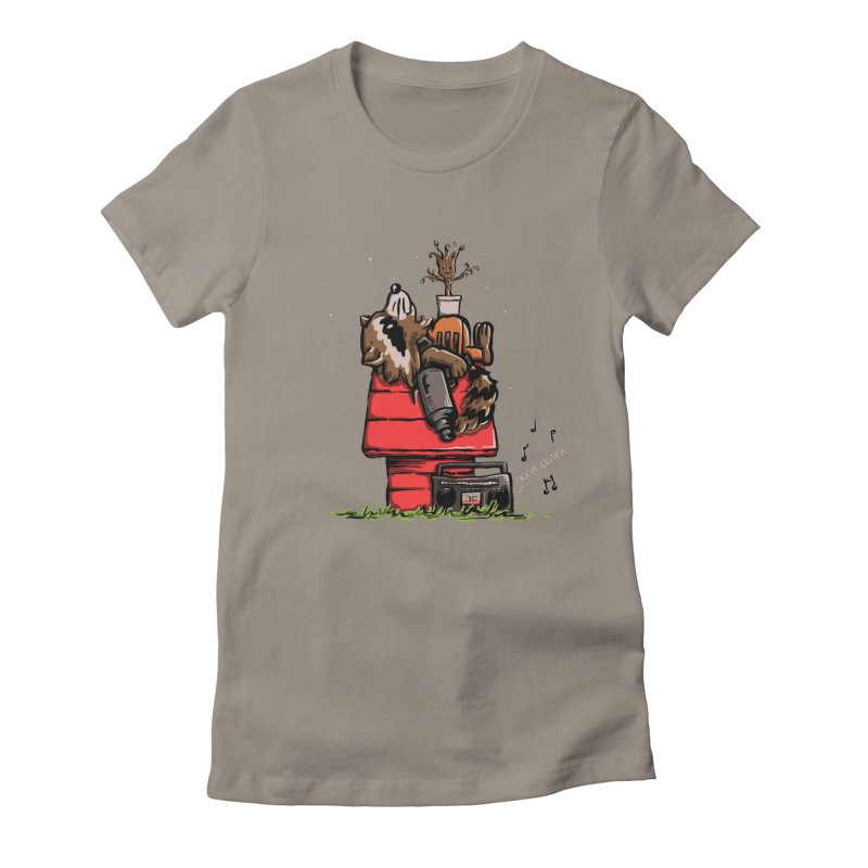 Peanut Guardians Women's Fitted T-Shirt by kellabell9