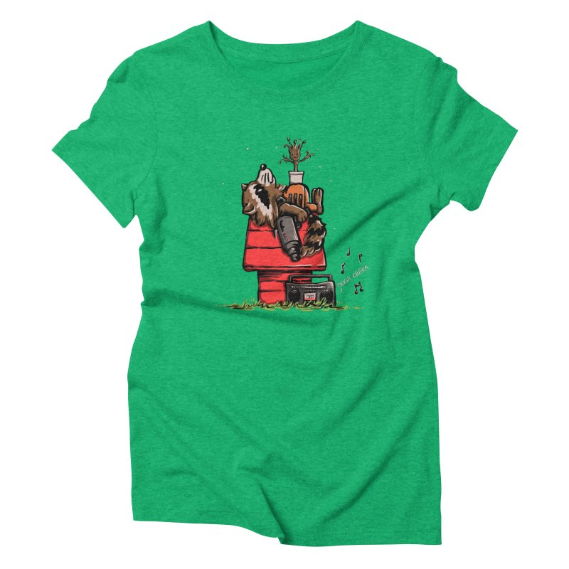 Peanut Guardians Women's Triblend T-shirt by kellabell9