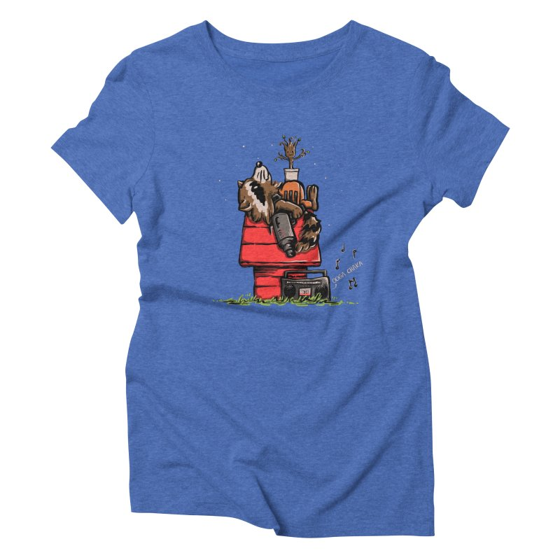 Peanut Guardians Women's Triblend T-Shirt by kellabell9