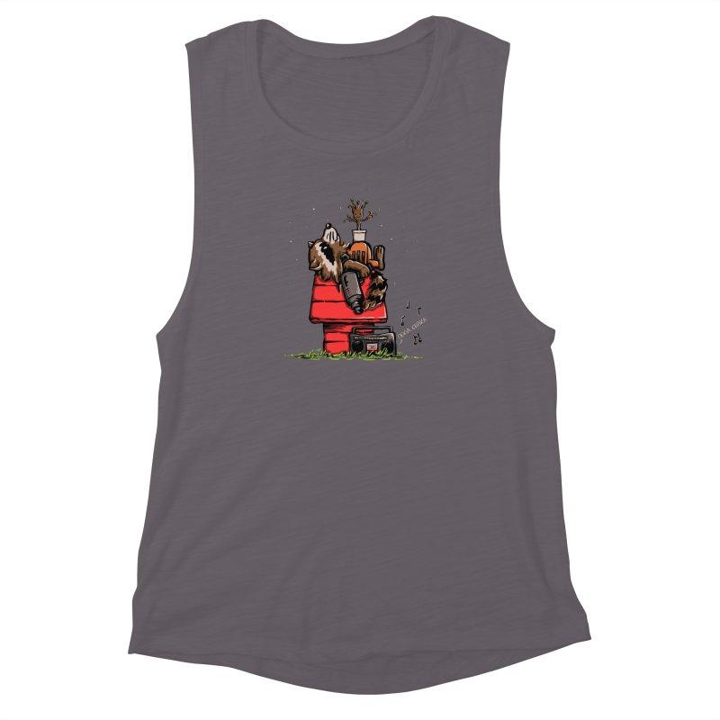 Peanut Guardians Women's Muscle Tank by kellabell9