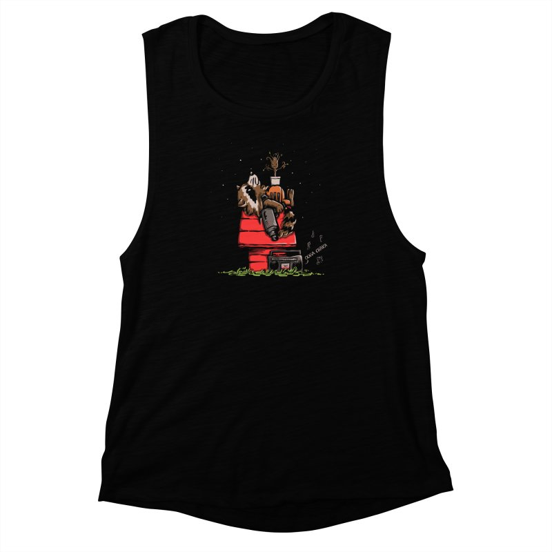 Peanut Guardians Women's Muscle Tank by kellabell9
