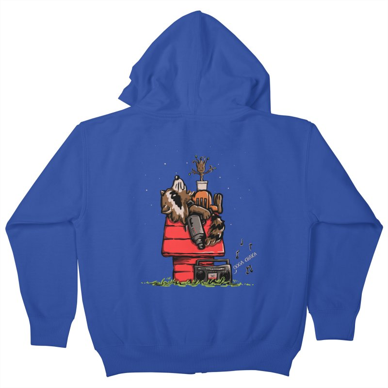 Peanut Guardians Kids Zip-Up Hoody by kellabell9