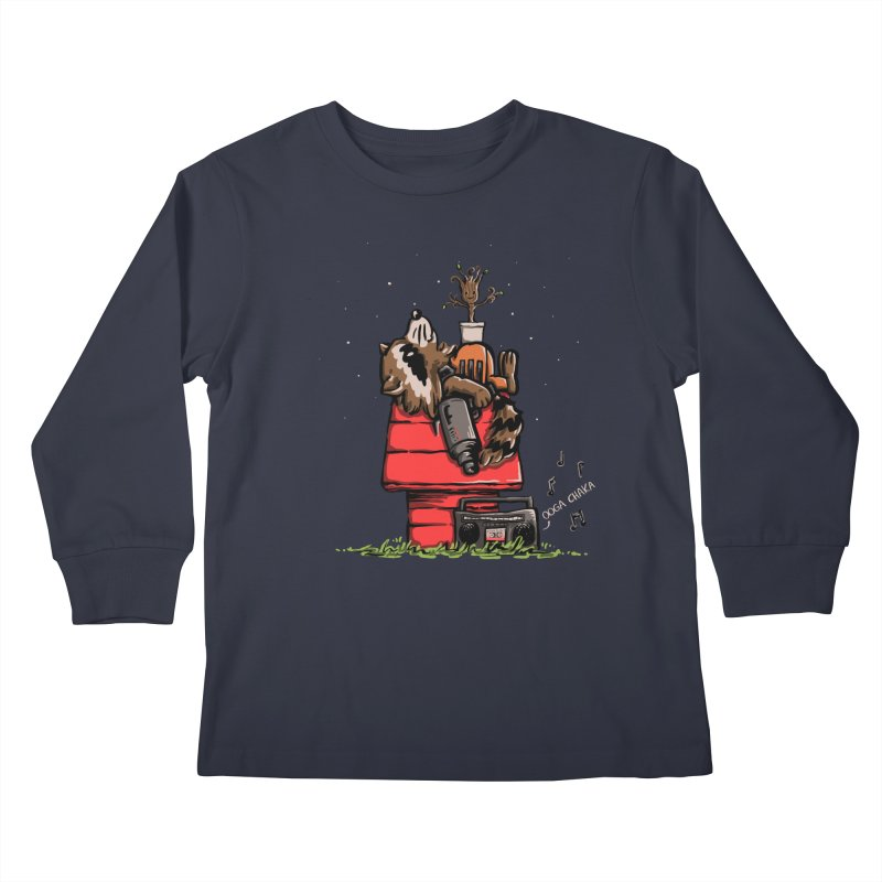 Peanut Guardians Kids Longsleeve T-Shirt by kellabell9