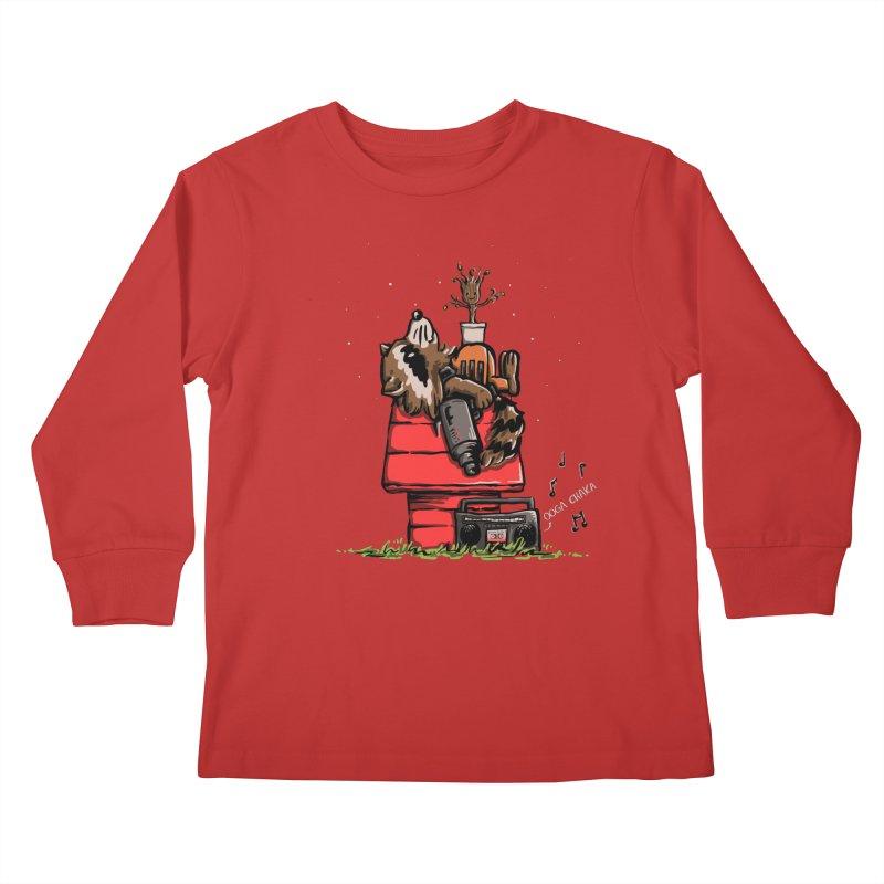 Peanut Guardians Kids Longsleeve T-Shirt by kellabell9